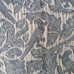 Aves - Copriletto in lino e...