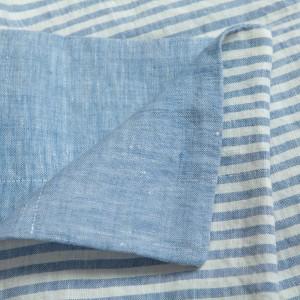 Vintage - Linen Striped...